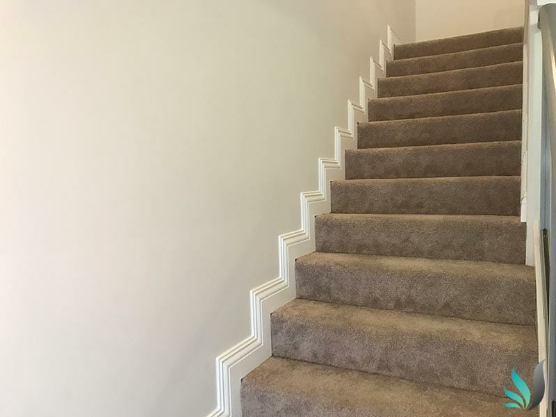 Custom Creations Perth WA skirting boards carpeted stair case