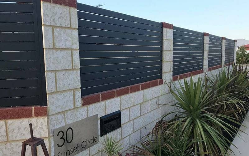 Custom Creations Perth fence infills steel image