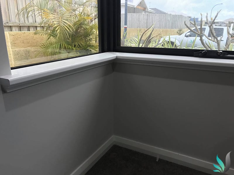 Custom Creations Perth WA mitred window sills
