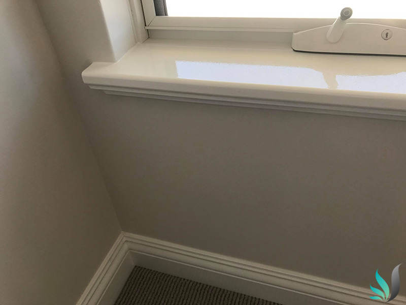 Custom Creations Perth WA close up window sills image