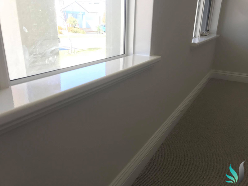 Custom Creations Perth WA window sills for the bedroom