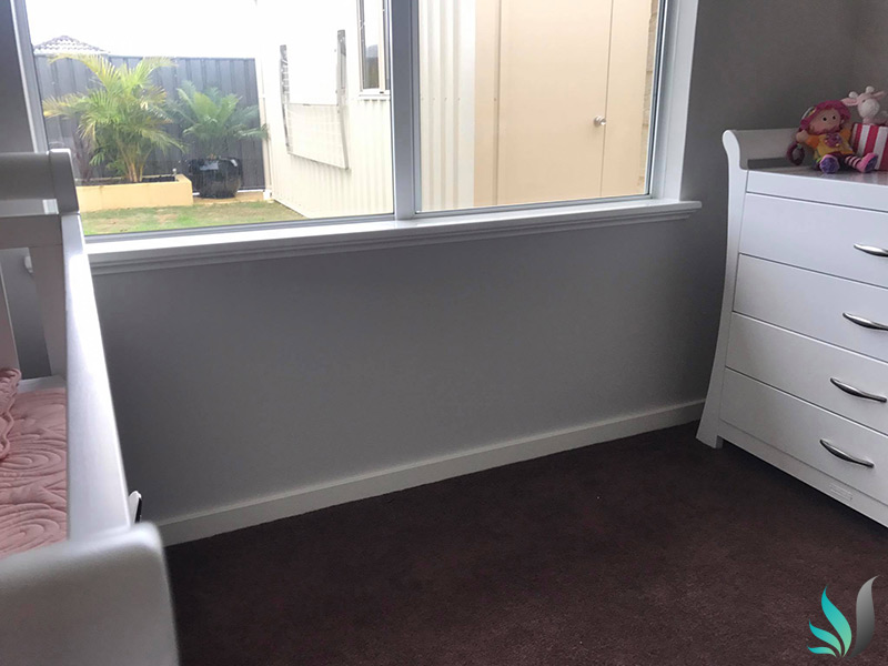 Custom Creations Perth WA bedroom window sills