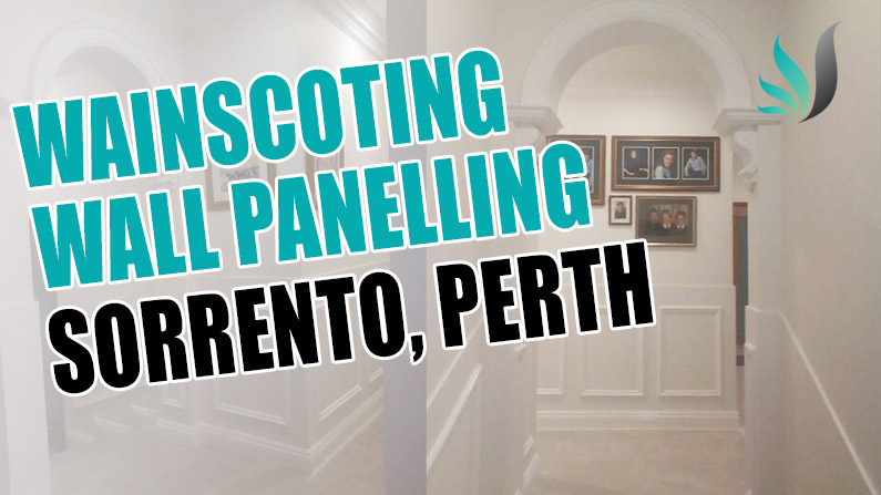 Wainscoting Wall Panelling Installation in Sorrento Perth WA 6020