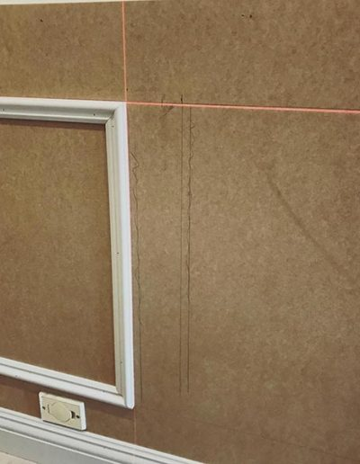 Wainscoting wall panelling professionally installed in Perth WA